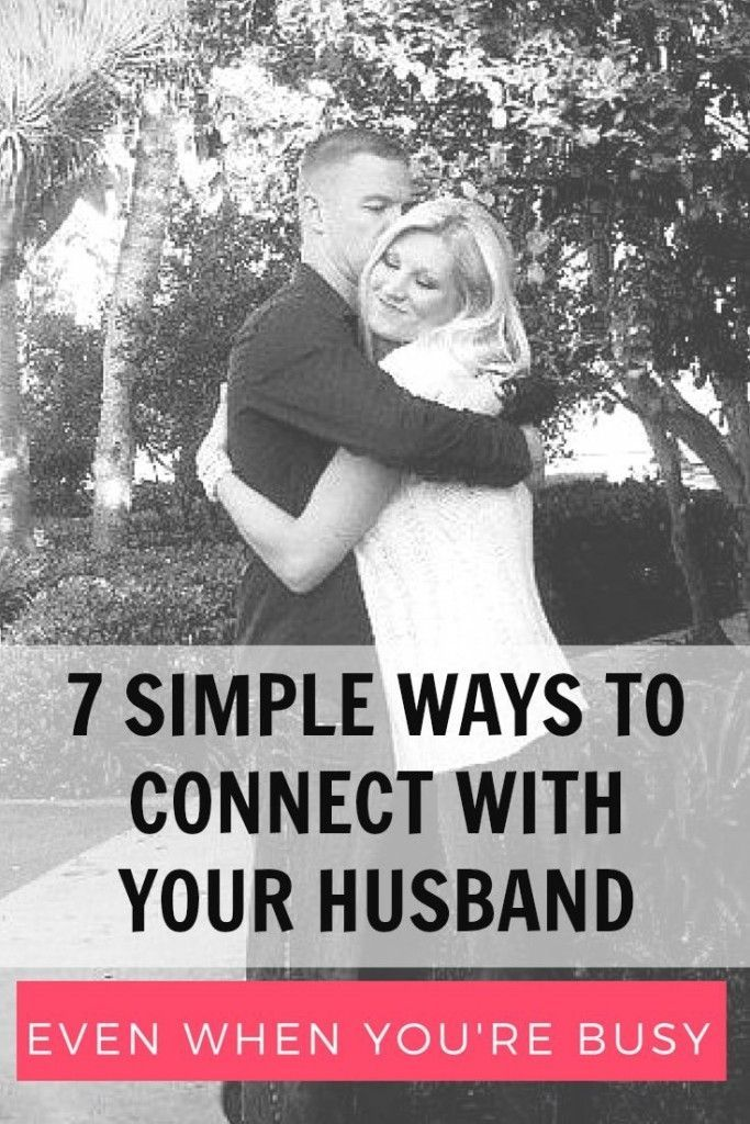 easy ways to connect with your husband daily #marriage #love #wundermom
