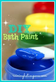 DIY Bathtub Paints - http://demfab.com/diy-bathtub-paints/