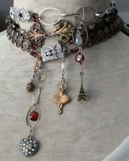 This gives me ideas. I know where I can get some charms similar. Steampunk ball!