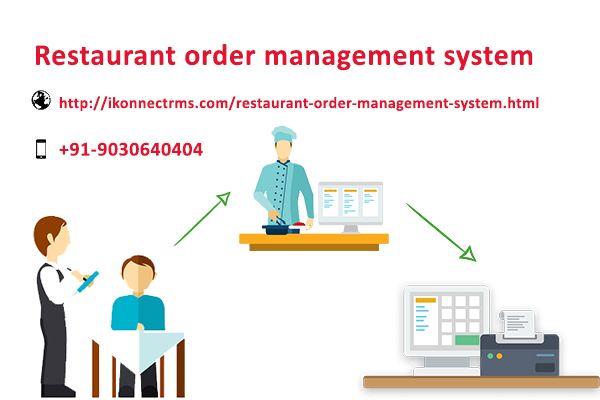 Restaurant order management system