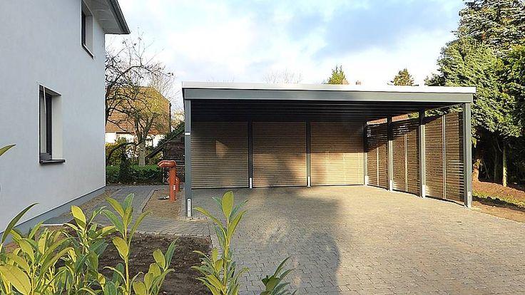 25 Best Ideas About Garage Bois Toit Plat On Pinterest