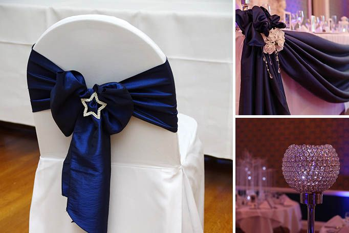 wedding theme that is silver and blue stars - Google Search