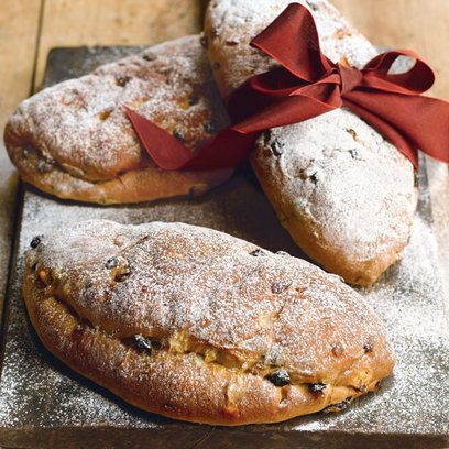 Stollen recipe. For the full recipe, click the picture or visit RedOnline.co.uk