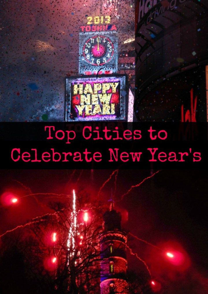 Top Cities to Celebrate New Year's