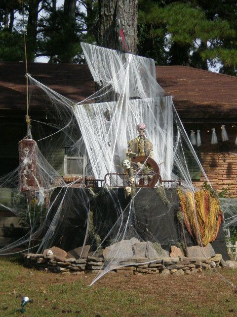 61 best Halloween Decor and More images on Pinterest Halloween - halloween pirate decorations