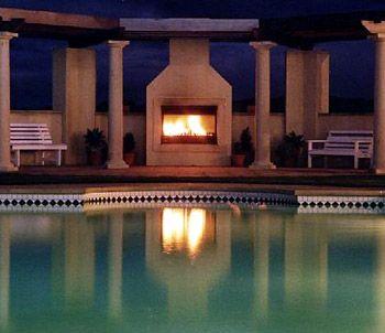 fireplace - Ambler homes