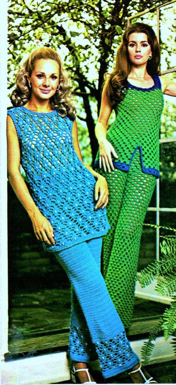 205 best Vintage Crochet images on Pinterest | Crochet dresses ...