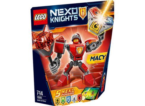 LEGO NEXO 70363 Macy i kamprustning