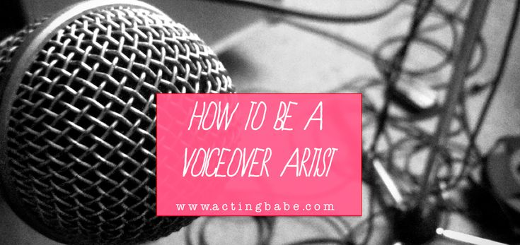 Want to be a voiceover artist? Here is a detailed run down on how to get started, along with some handy local (UK) links to people who can help you: http://actingbabe.com/b-a-b-e-blog/get-started-voiceover-artist-acting-jobs  www.actingbabe.com.