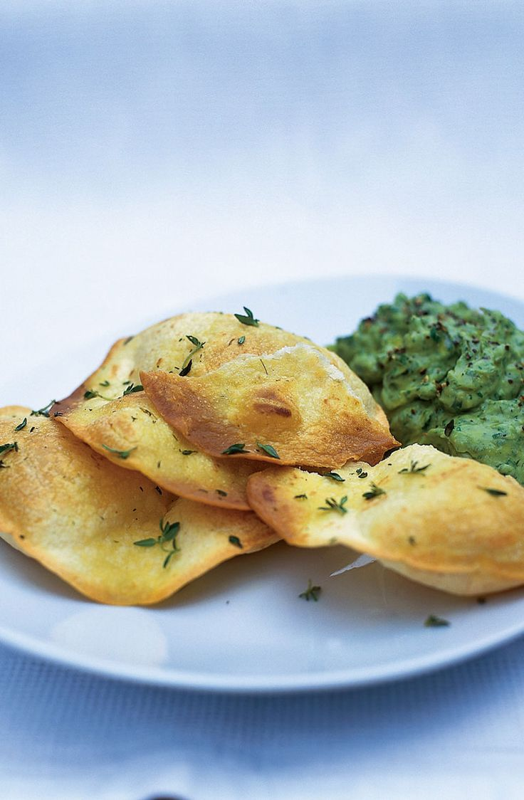 crispy tortillas with guacamole | Jamie Oliver | Food | Jamie Oliver (UK)