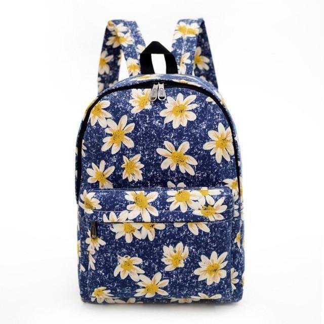 2016 Women Backpack Boy School Bag Women Backpack Printing Backpacks Ladies Shoulder Bags Rucksack mochila feminina #25