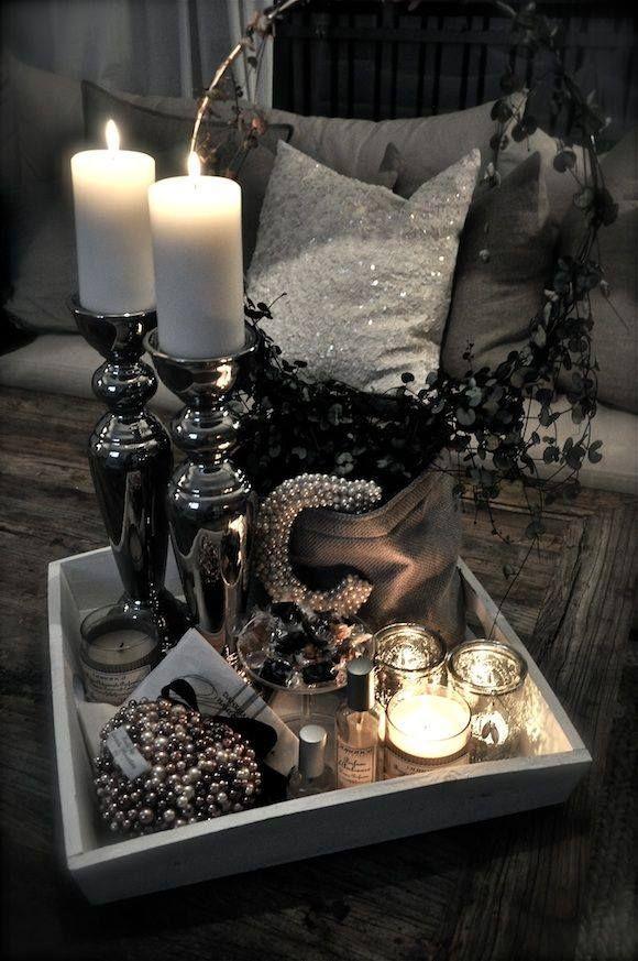 17 mejores im genes sobre decoracion con velas en - Decoracion con conchas ...