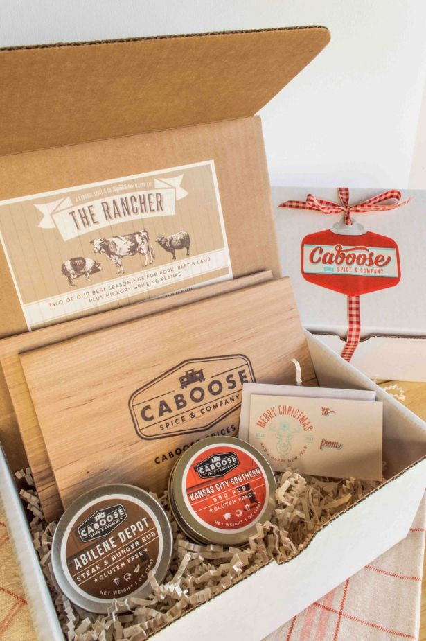 The Rancher (Mini) - Two Dry Rubs And Two Hickory Grilling Planks - Grilling Gift Set by Caboose Spice & Company on Gourmly