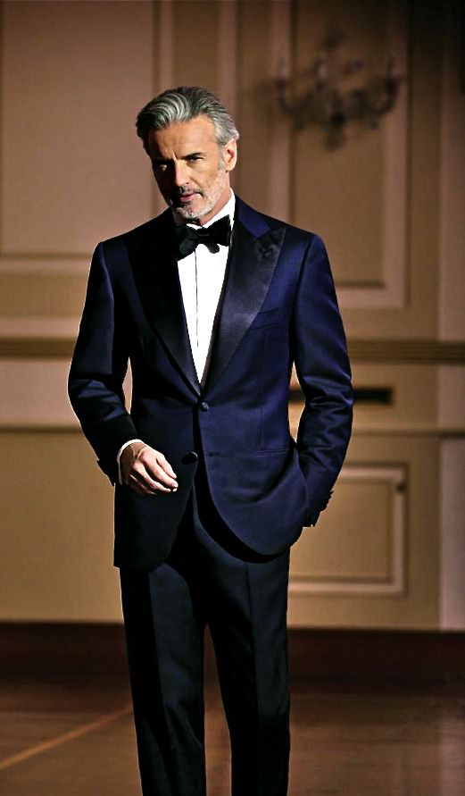 Midnight Blue Formal. Men and Their Clothes --What Women Think. Article here.