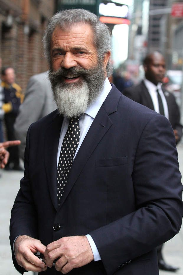 Mel Gibson - don't like where he's gone mentally but I can't argue with his looks.