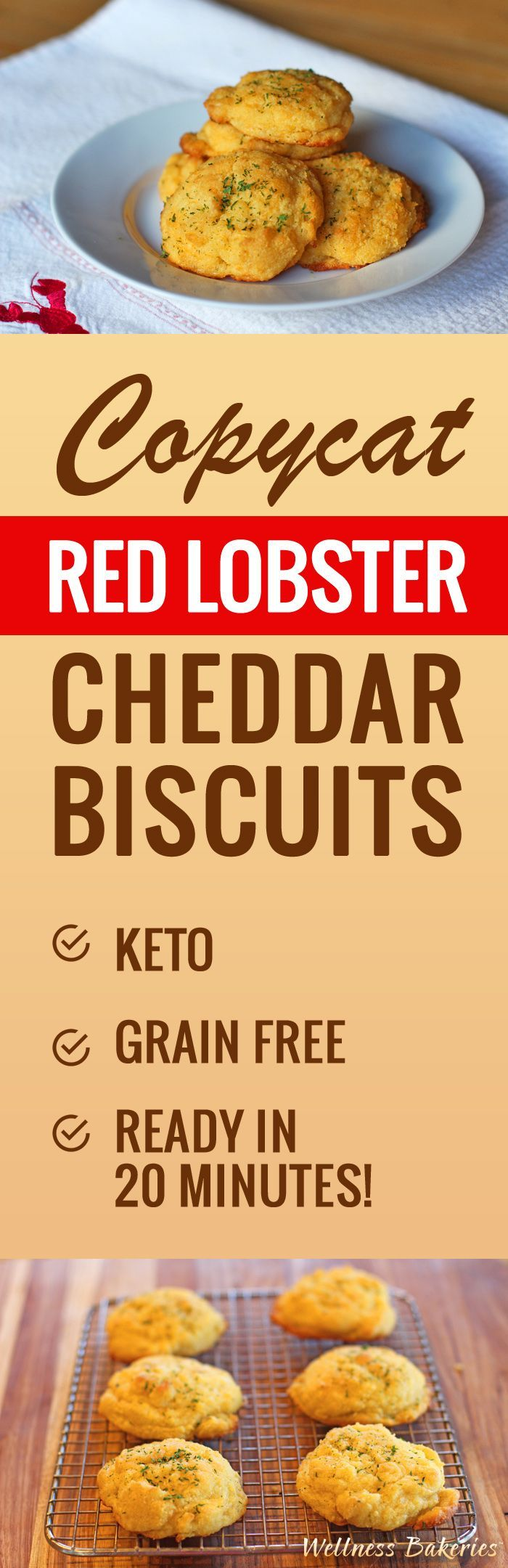 If you love Red Lobster Biscuits, but not the grain, carbs and trans fats, you'll love our keto riff on this classic.