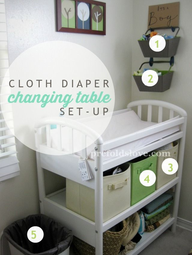 Cloth Diaper Changing Station With Images Cloth Diapers Diaper Changing Station Cloth Diaper Organization
