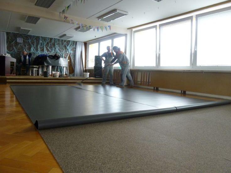 Pokládka baletních povrchů. Pokládku provádí naši zaměstnanci.