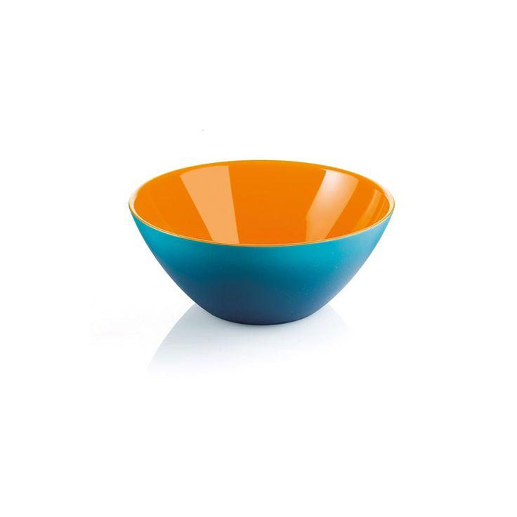 """#CONTENITORE MY #FUSION #GUZZINI #AZZURRO #BIANCO #ARANCIO Un design minimale per un contenitore che rivisita in chiave moderna l'antica tradizione delle lacche orientali. Forti contrasti di cromie studiate sulla base delle ultime tendenze e rese possibili grazie all'esclusiva tecnologia """"tricolore"""" Guzzini:3 COLOR TECH. Dimensione versatile per utilizzi nella tavola quotidiana o come oggetto di decoro per la casa. #italy #madeinitaly #design #kitchen #kitchenware #living #guzzini #FUSION"""