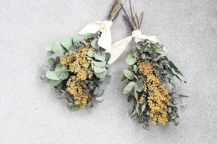 FLEURI (フルリ)| ドライフラワー dryflower ブーケ 花束 スワッグ ミモザ
