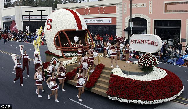 Rose Bowl Parade 2013 | Rose Bowl parade 2013: Olympic gymnasts and the surprise return of a ...
