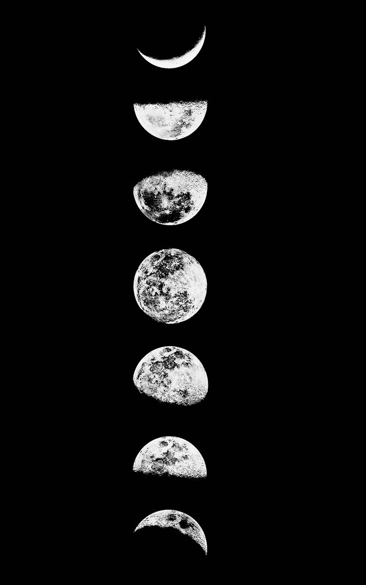.Moon phases.