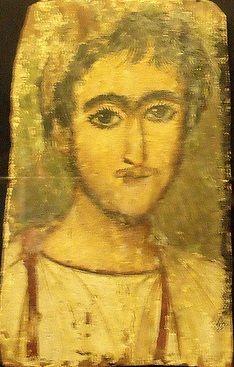 A Young Man, er Rubayat, AD 275-300 (Stockholm, Medelhavsmuseet, NM Ant 2301)…