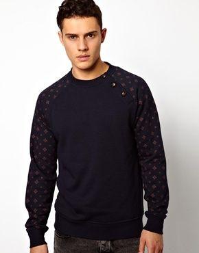 Image 1 ofNew Look Raglan Sweatshirt