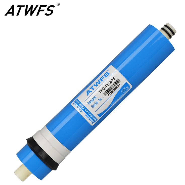 ATWFS 75gpd RO Membrane reverse osmosis system Water Purifier RO membrane Cartridge General Common Water Filters for Household