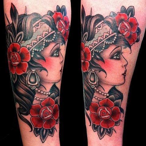 Traditional Fox Tattoo | and fox custom tattoo sydney tattoo australia instagram demi tattoo ...