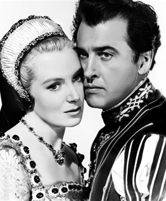 Deborah Kerr as Catherine Parr in 1953 movie 'Young Bess'