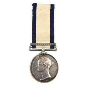 Naval General Service Medal, Navarino bar