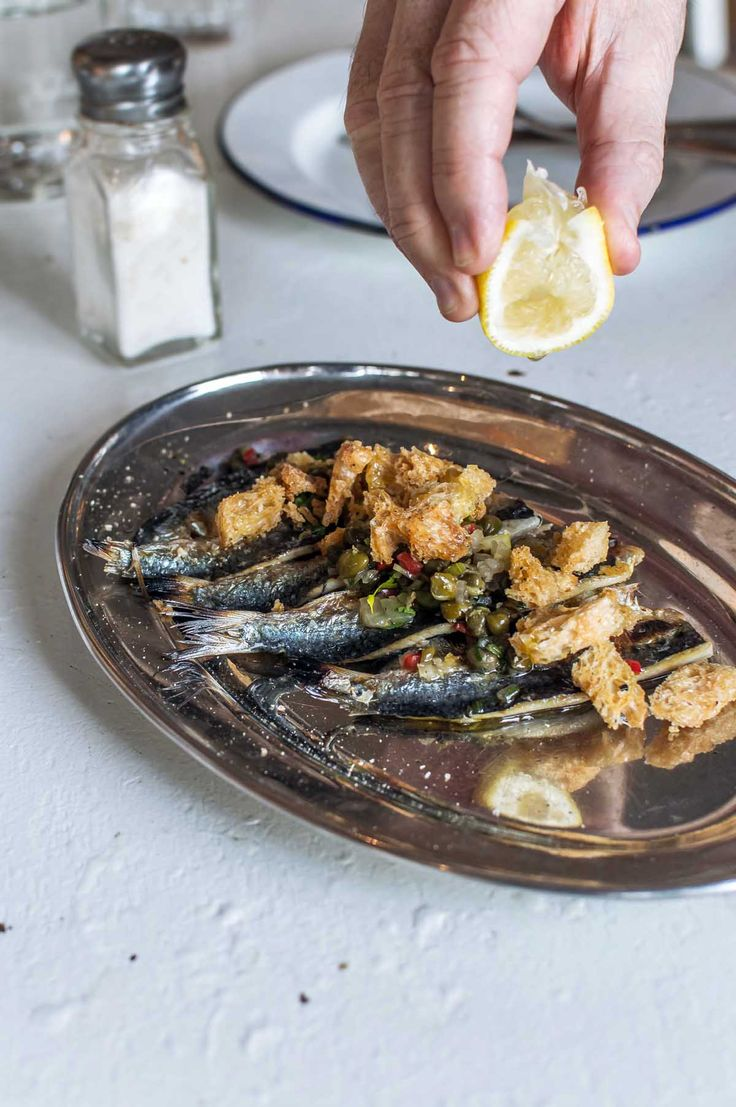 Grilled sardines at Coogee Pavilion, Sydney | heneedsfood.com