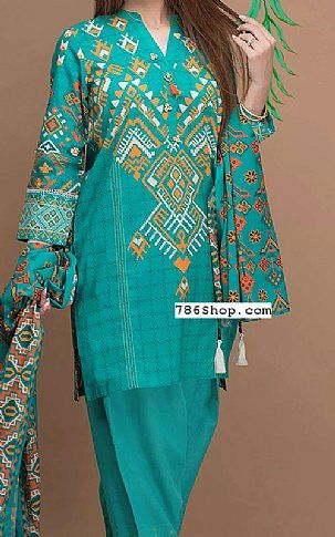 3ecd9d84c0 Sea Green Lawn Suit | Buy Zeen Pakistani Dresses and Clothing online in  USA, UK