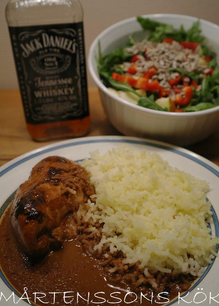 MÅRTENSSONS KÖK: Kyckling i whiskysås.