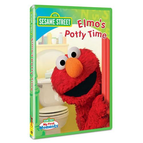 sesame street  elmo u0026 39 s potty time dvd