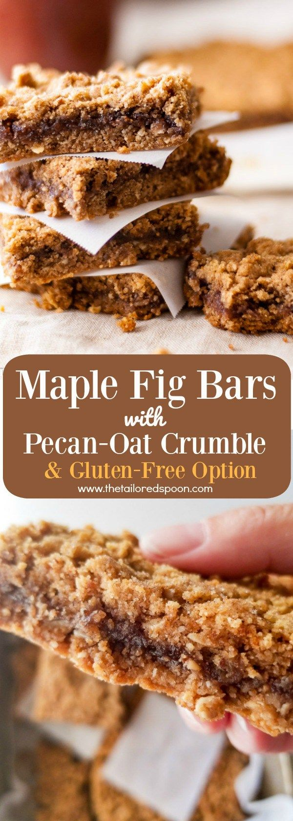 Maple Fig Bars