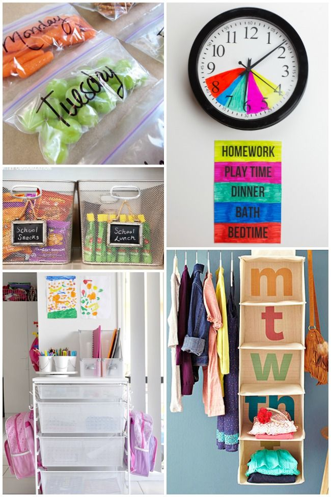 Organizing Life for School