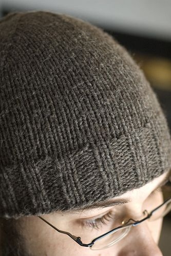 Knitting Pattern Guy : Regular Guy Beanie Yarn weight Aran / 10 ply (8 wpi) Gauge ...