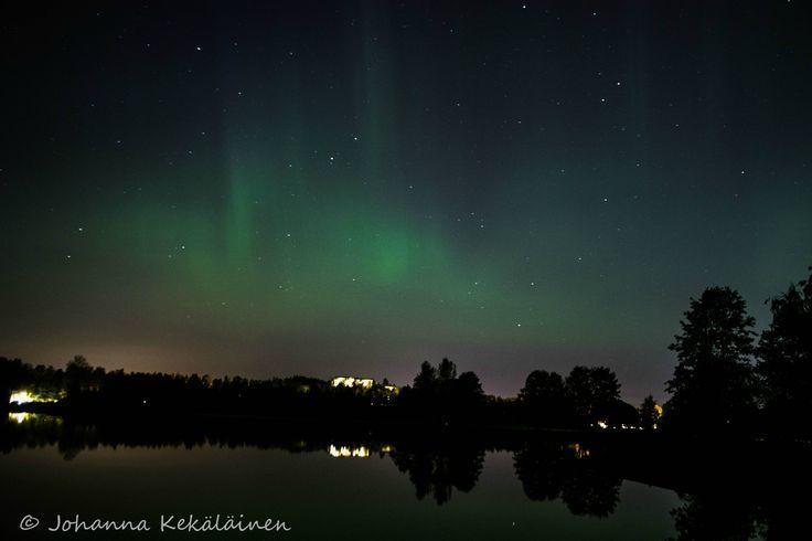 Aurora Borealis Järvenpää Finland. [OC] [6000×4…