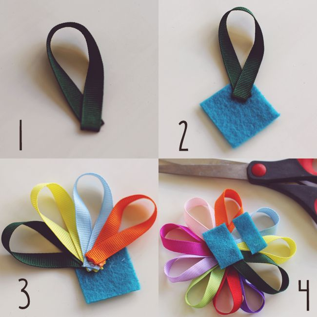 Sugar and Dots: Daisy Girl Scout Inspired Hair Clip Tutorial