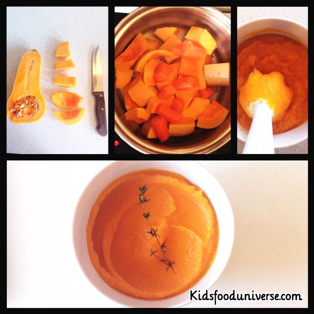 93 best baby food 6 8 months images on pinterest baby foods butternut squash baby food puree for weaning babies forumfinder Image collections