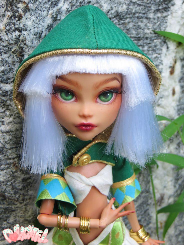 """Khairin"" custom Cleo De Nile Monster high Ooak Custom Repaint Doll by Dollightful"
