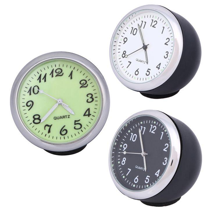 40ミリメートル抗スクラッチ車クロック力学クォーツ時計で発光光ミニ夜光時計時計用オート装飾