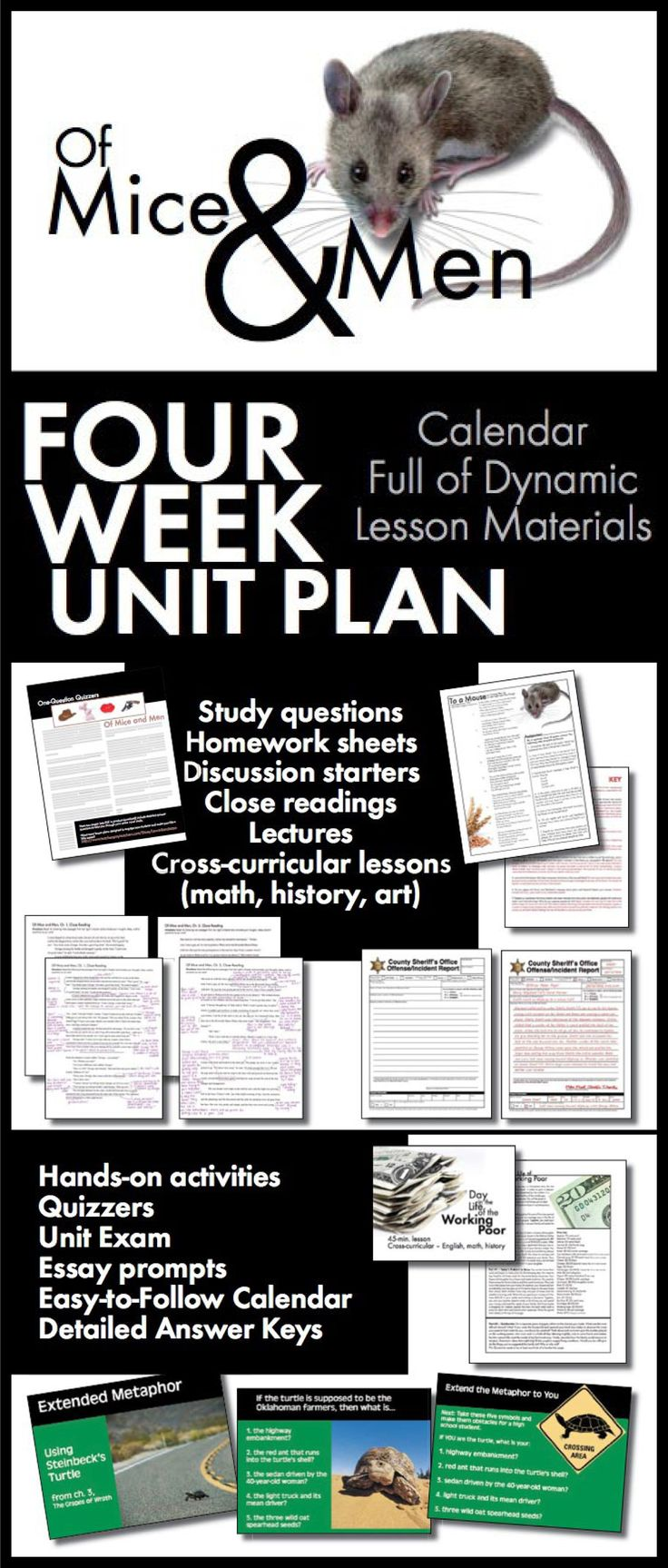best images about of mice and men lesson plans of mice and men unit plan four full weeks of dynamic lessons ccss