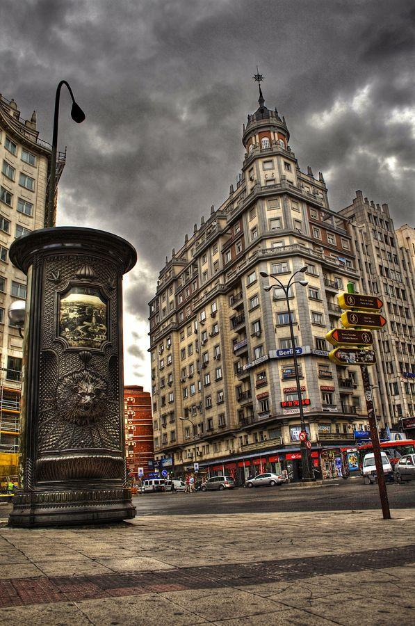 Plaza de España, Madrid, Spain by Alena Romanenko, via 500px