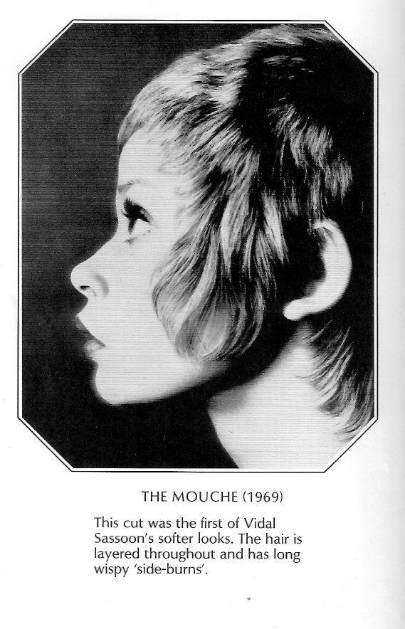 The Mouche Cut By Vidal Sassoon 1969 Let S Get Naked