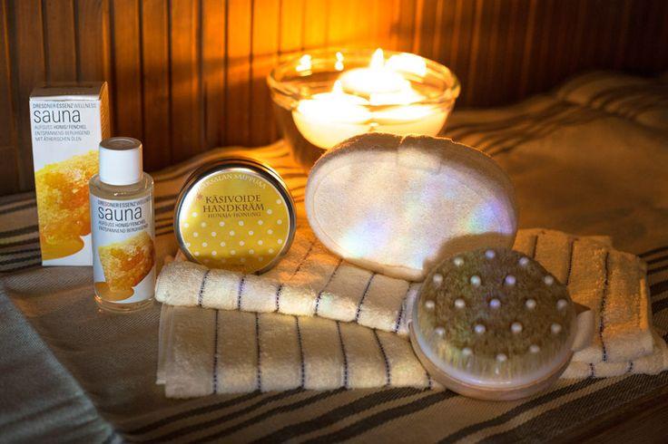 Hemmottelu- ja saunasettejä, eri kokoonpanoissa ja eri hintaluokissa, tutustu valikoimaan http://www.iozzu.com/