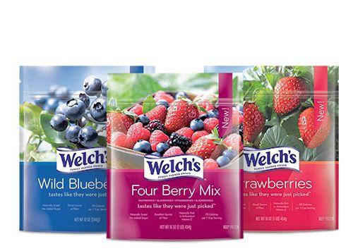 Welch's Frozen Fruit: A Yummy Healthy Snack Alternative! #welchs #healthysnacks