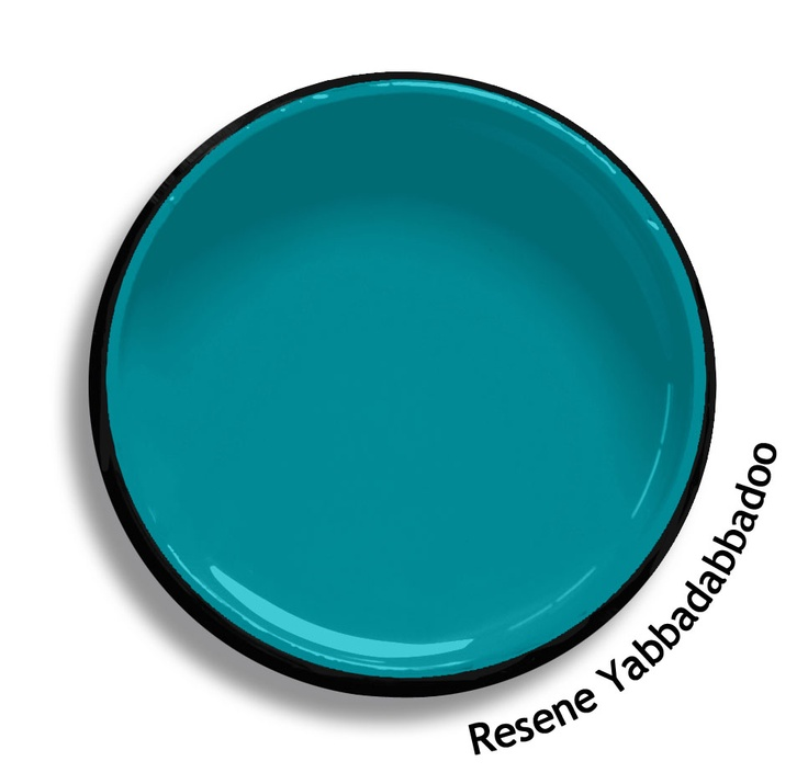 Resene Yabbadabbadoo is a bright cerulean blue green. From the Resene KidzColour colour range. Try a Resene testpot or view a physical sample at your Resene ColorShop or Reseller before making your final colour choice. www.resene.co.nz/kidzcolour.htm